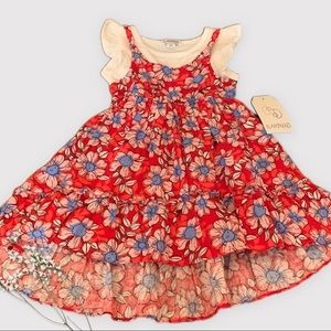 Adorable Toddler Floral Dress in Size 2T